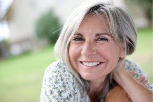Senior women - sparkling smile