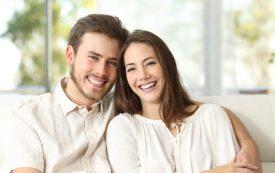 best dental treatments | couple smiling