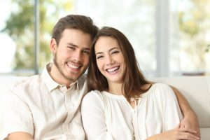 best dental treatments   couple smiling