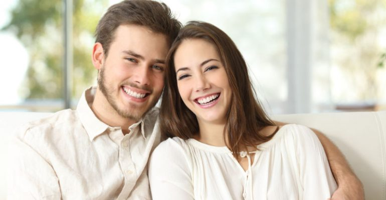 best dental treatments | couple smiling