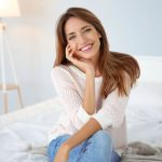 Woman smiling | what are dental veneers