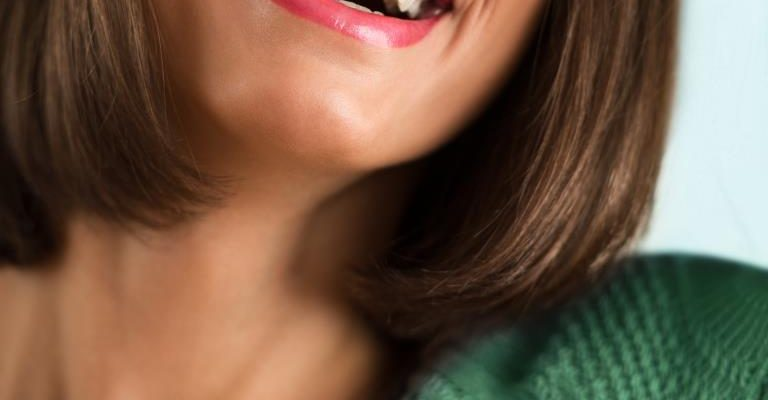 restorative dentistry treatments | Woman with beautiful smile.