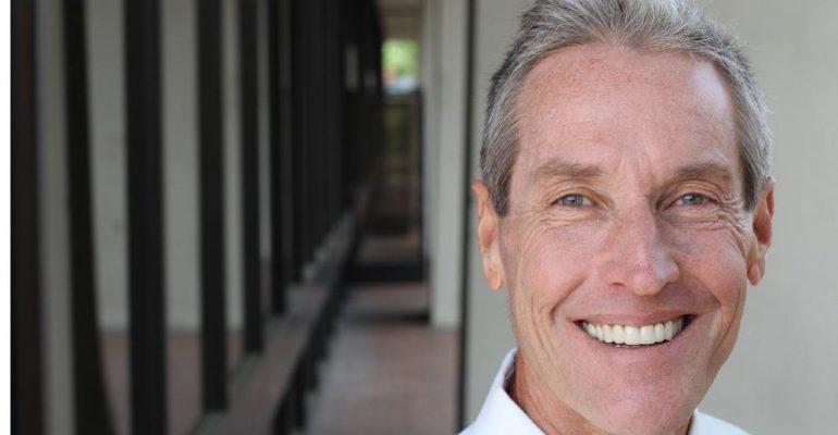 Dental Implant | Old man smiling.
